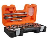 Bahco S240 24 Piece 1/2in Socket Set with Carry Case
